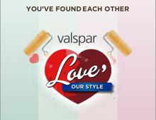 VALSPAR Newlyweds Banner