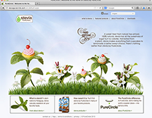 PURE CIRCLE Stevia Website Build