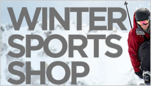 Sports Authority – Winter Sports Landing Page