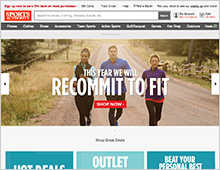 Sports Authority – RECOMMIT TO FIT Home Page