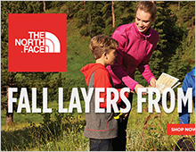 Sports Authority – THE NORTH FACE Fall Apparel Home Page